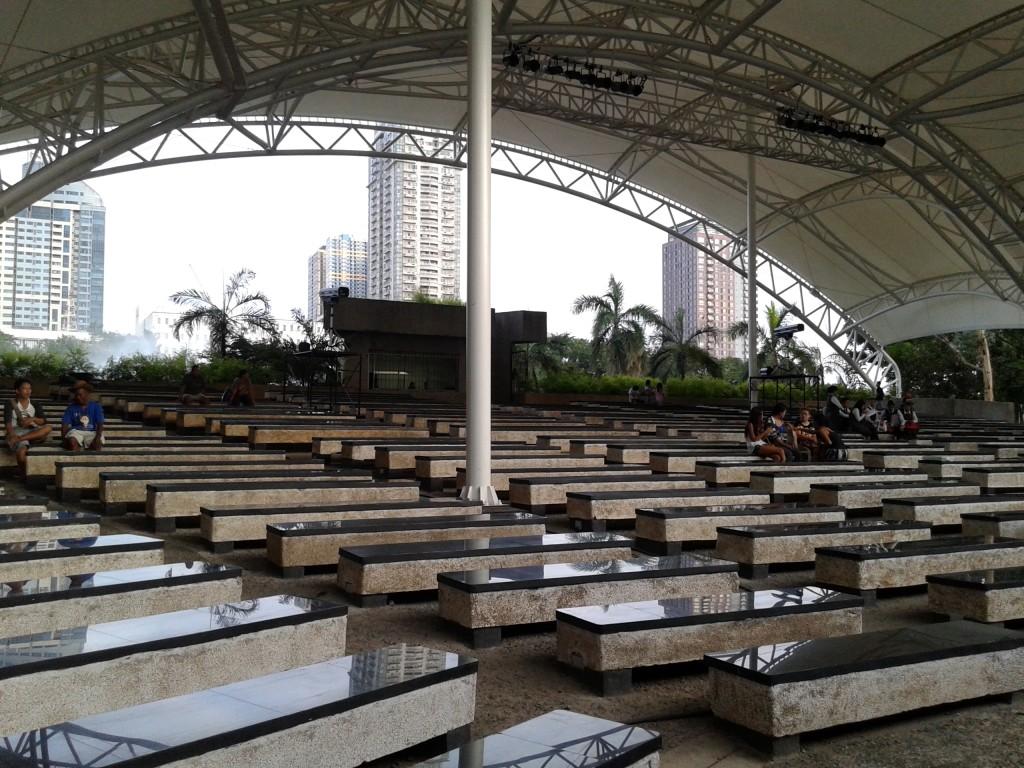 Rizal Park open auditorium