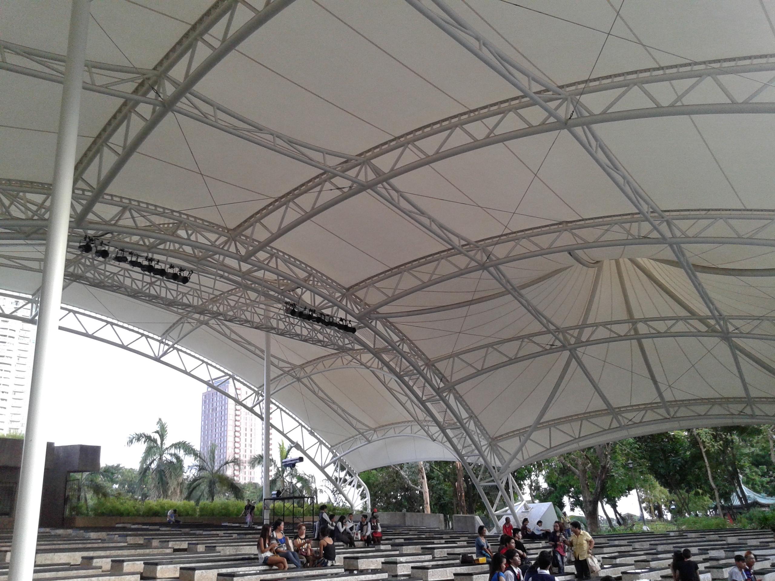 Rizal park open air auditorium
