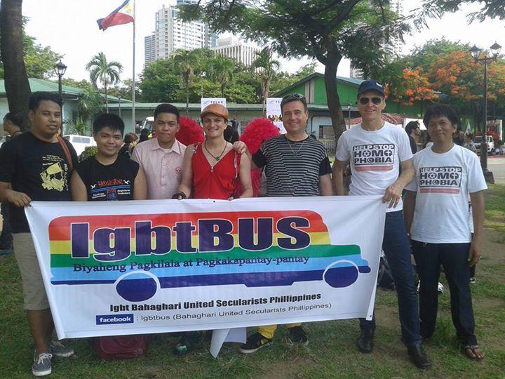 Raelians support Gay pride